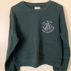 Pull and bear cropped sweater